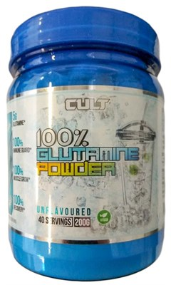 Cult - 100% Glutamine powder (200гр) - фото 5610