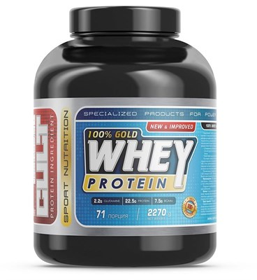 Cult - 100% Gold Whey Protein (2270гр) - фото 5612