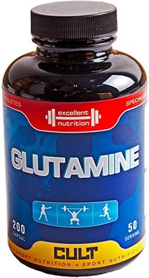 Cult - Glutamine (200капс) - фото 5623