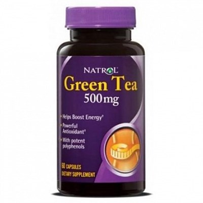 Natrol - Green Tea 500mg (60капс) - фото 5686