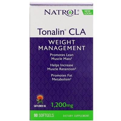 Natrol - Tonalin CLA 1200mg (60гел.капс) - фото 5740
