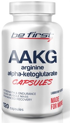 Be First AAKG capsules (120капс) - фото 5755