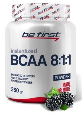 Be First - BCAA 8:1:1 INSTANTIZED Powder (250гр) - фото 5761