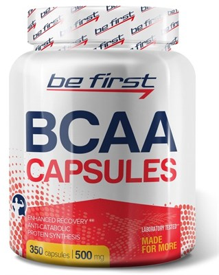 Be First - BCAA capsules (350капс) - фото 5763