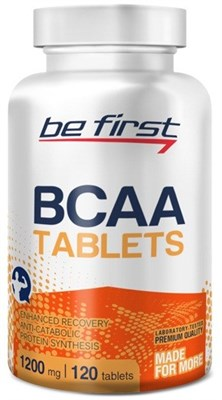 Be First - BCAA Tablets (120таб) - фото 5764