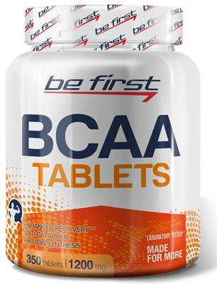 Be First - BCAA Tablets (350таб) - фото 5765