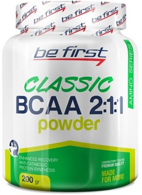Be First - Classic BCAA 2:1:1 (200гр) - фото 5772