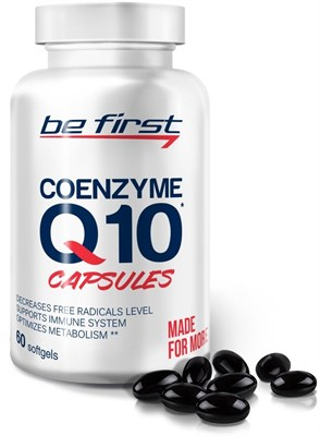 Be First - Coenzyme Q10 60mg (60гел.капс) - фото 5773