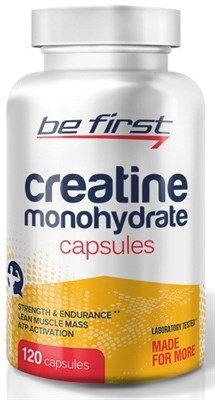 Be First - Creatine Monohydrate Capsules (120капс) - фото 5775