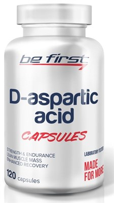 Be First - D-Aspartic Acid capsules (120капс) - фото 5778