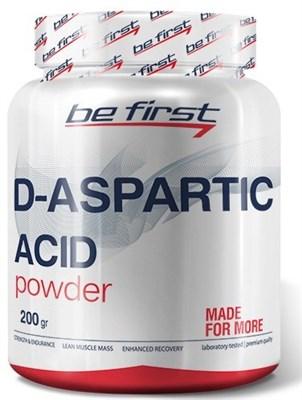 Be First - D-Aspartic Acid Powder (200гр) - фото 5779