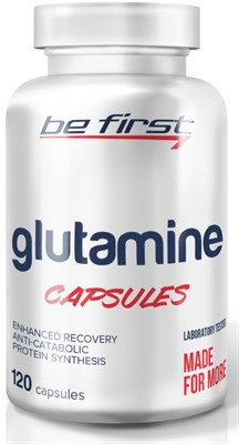 Be First - Glutamine capsules (120капс) - фото 5789