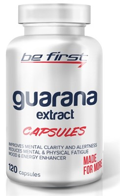 Be First - Guarana extract (120капс) - фото 5792