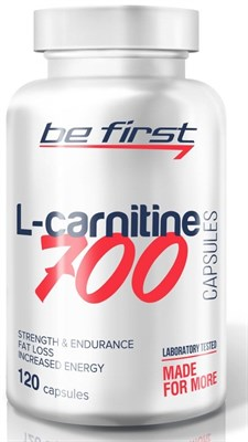 Be First - L-Carnitine 700mg (120капс) - фото 5796