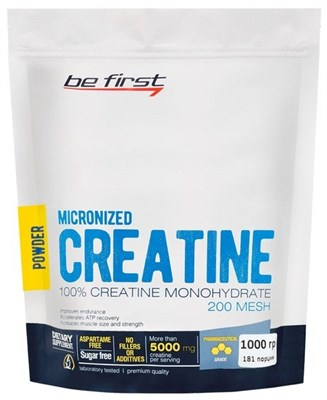 Be First - Micronized Creatine (1000гр) пакет - фото 5797