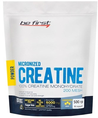 Be First - Micronized Creatine (500гр) пакет - фото 5798