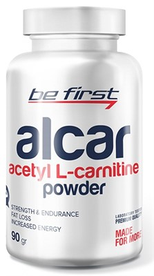 Be First - Alcar (acetyl L-carnitine) powder (90гр) - фото 5820