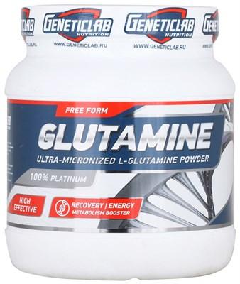 GeneticLab Nutrition - Glutamine Powder (500гр) - фото 5860