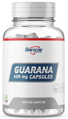 GeneticLab Nutrition - Guarana capsules (60капс) - фото 5862