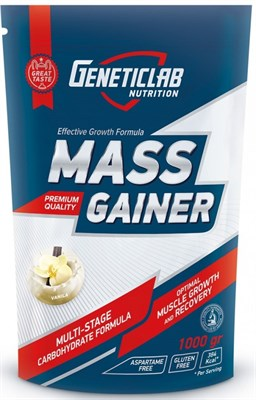 GeneticLab Nutrition - Mass Gainer (1000гр) - фото 5871