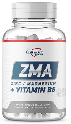 GeneticLab Nutrition - ZMA (60капс) - фото 5883