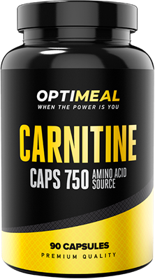 OptiMeal Carnitine caps 750 (90капс) - фото 5908