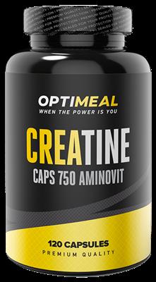 OptiMeal Creatine Caps 750mg (120капс) - фото 5912