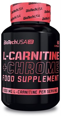 BioTech USA L-Carnitine + Chrome for Her (60капс) - фото 5925