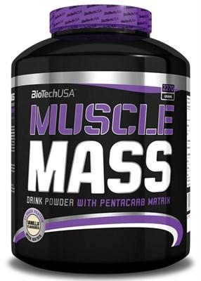 BioTech USA - Muscle Mass (2270гр) - фото 5929
