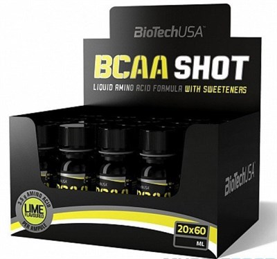 BioTech USA BCAA Shot (20x60мл) - фото 5931