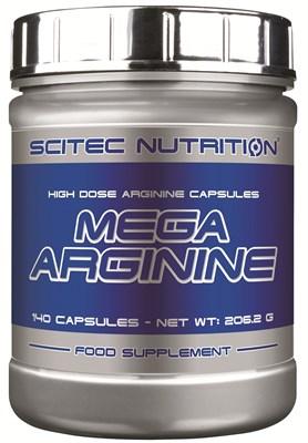 Scitec Nutrition - Mega Arginine (140капс) - фото 5941