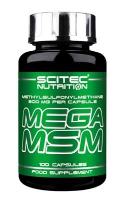 Scitec Nutrition Mega MSM (100капс) - фото 5960