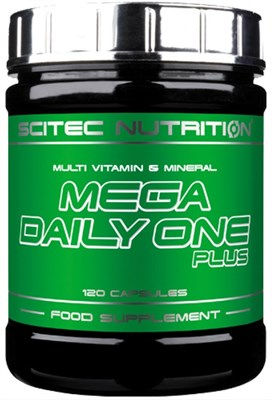 Scitec Nutrition - Mega Daily One Plus (120капс) - фото 5961