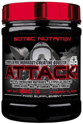 Scitec Nutrition Attack 2.0 (320гр) - фото 5964