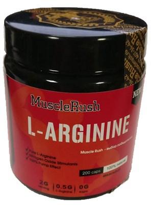 Muscle Rush L-Arginine (200капс) - фото 5971