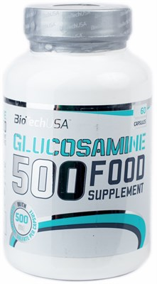 BioTech USA Glucosamine 500 (60таб) - фото 5974