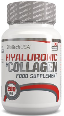 BioTech USA Hyaluronic & Collagen (30капс) - фото 5977