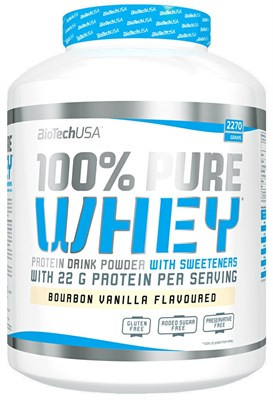 BioTech USA 100% Pure Whey (2270гр) - фото 5984