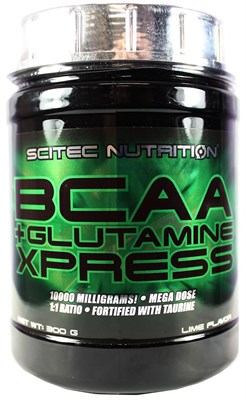 Scitec Nutrition BCAA + Glutamine Xpress (300гр) - фото 5993