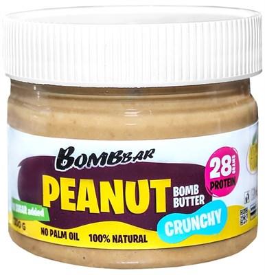 BOMBBAR Хрустящая арахисовая паста (300гр) - фото 5999