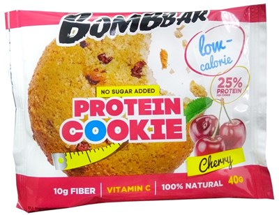 BOMBBAR Protein Cookie Низкокалорийное печенье (40гр) - фото 6001