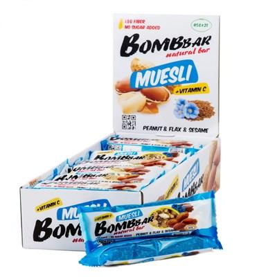 BOMBBAR Muesli (45гр) - фото 6006