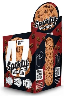Sporty Protein Печенье (6x65гр) - фото 6026