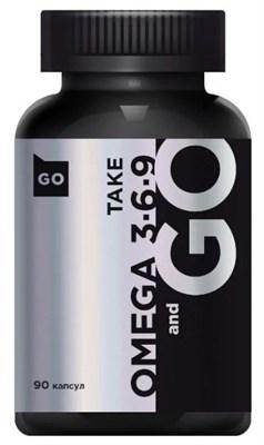 Take and Go Omega 3-6-9 (90гел.капс) - фото 6065