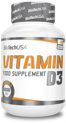BioTech USA Vitamin D3 (60капс) - фото 6077