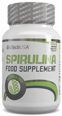 BioTech USA Spirulina (100таб) - фото 6079