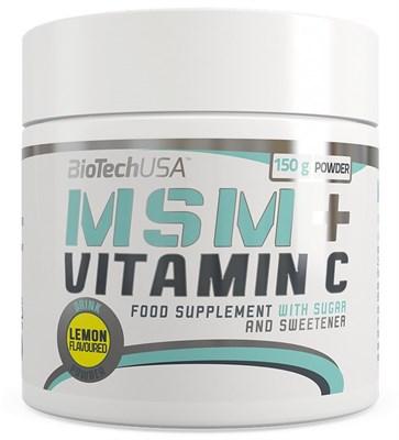 BioTech USA MSM + Vitamin C (150гр) - фото 6081