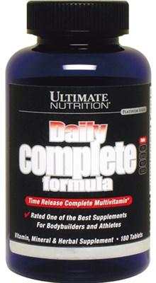 Ultimate Nutrition Daily Complete Formula (180таб) - фото 6112
