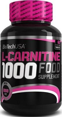 BioTech USA L-Carnitine 1000 (60таб) - фото 6120