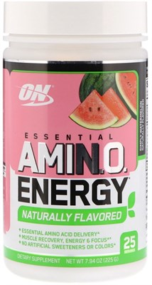Optimum Nutrition Amino Energy Naturally Flavored (225гр) - фото 6135